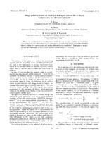 prikaz prve stranice dokumenta Image-potential states on clean and hydrogen-covered Pd surfaces: Analysis of a one-dimensional model