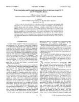 prikaz prve stranice dokumenta Weak-localization and Coulomb-interaction effects in hydrogen-doped Zr-Ni and Zr-Cu metallic glasses