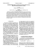 prikaz prve stranice dokumenta Delocalized Wigner lattice on a dielectric layer with a metallic substrate: Dynamical properties and phase transitions