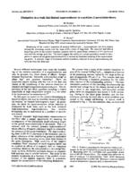 prikaz prve stranice dokumenta Dissipation in a weak-link-limited superconductor as a problem of percolation theory