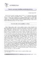 prikaz prve stranice dokumenta Najnovija mjerenja kozmičkog pozadinskog zračenja