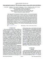 prikaz prve stranice dokumenta Giant quadrupole resonances in 208Pb, the nuclear symmetry energy, and the neutron skin thickness