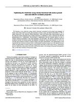 prikaz prve stranice dokumenta Optimizing the relativistic energy density functional with nuclear ground state and collective excitation properties