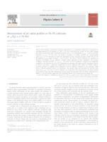 prikaz prve stranice dokumenta Measurement of jet radial profiles in Pb–Pb collisions at √sNN=2.76 TeV