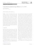 prikaz prve stranice dokumenta (Anti-)deuteron production in pp collisions at √=13 TeV
